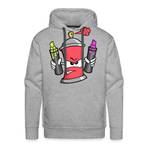 Graffiti Spray Can (rot) - Männer Premium Hoodie