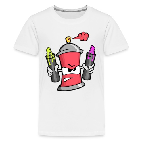 Graffiti Spray Can (rot) - Teenager Premium T-Shirt
