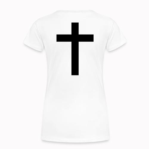 Cross - Frauen Premium T-Shirt