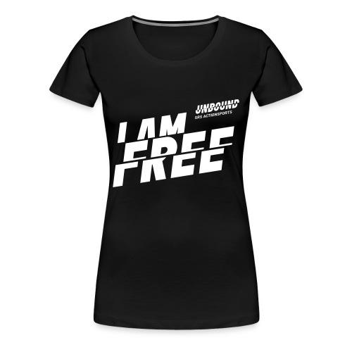 UNBOUND Free - Logo front - Frauen Premium T-Shirt