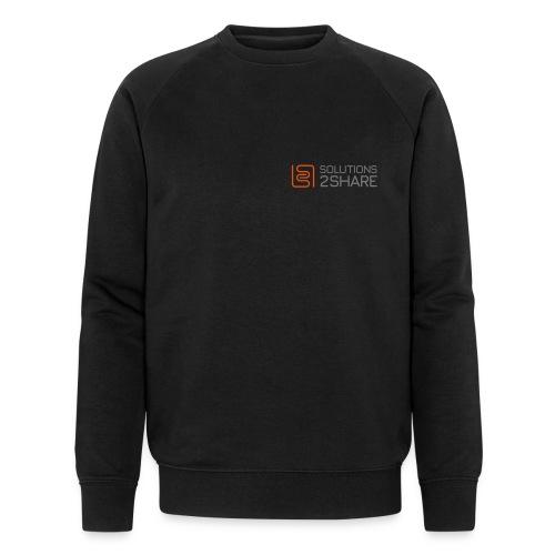 Front / long / small - Männer Bio-Sweatshirt von Stanley & Stella