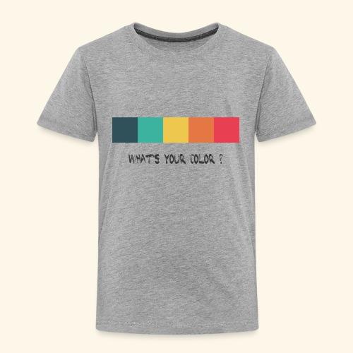 what´s your color? kids - Kinder Premium T-Shirt