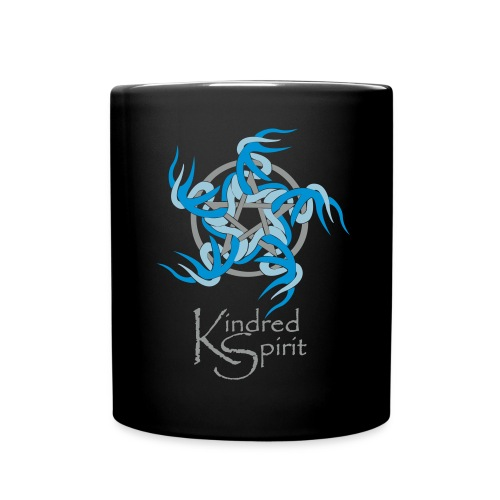 Black Kindred Spirit Band Mug - Full Colour Mug