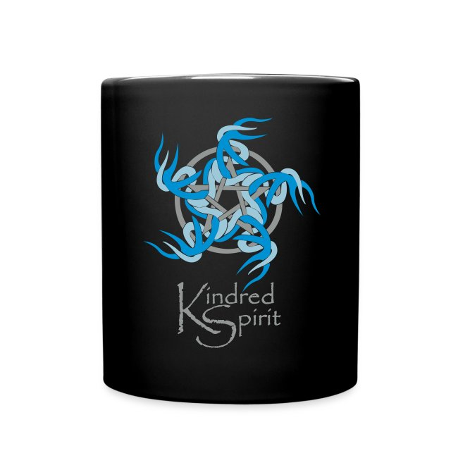 Black Kindred Spirit Band Mug