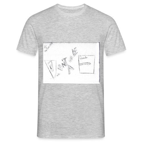 Don't wanna be a Quader Shirt - Männer T-Shirt
