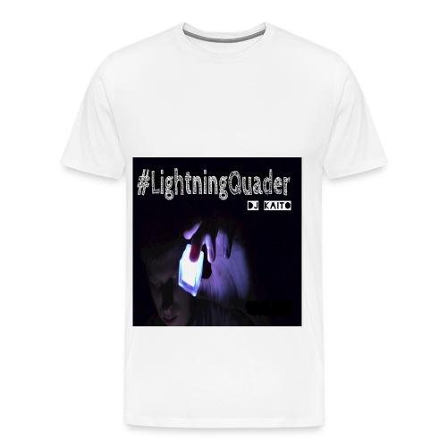 #LightningQuader t-Shirt (Männer) - Männer Premium T-Shirt