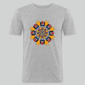 Mandala Gold - Tee shirt près du corps Homme