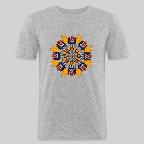 Mandala Gold - T-shirt près du corps Homme