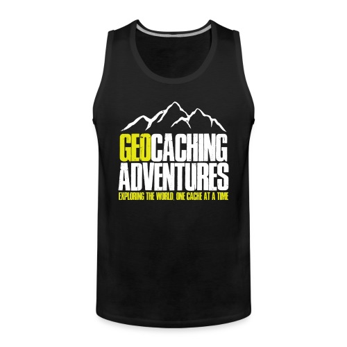 Geocaching Adventures (Male) - Mannen Premium tank top