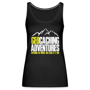 Geocaching Adventures (Female) - Vrouwen Premium tank top