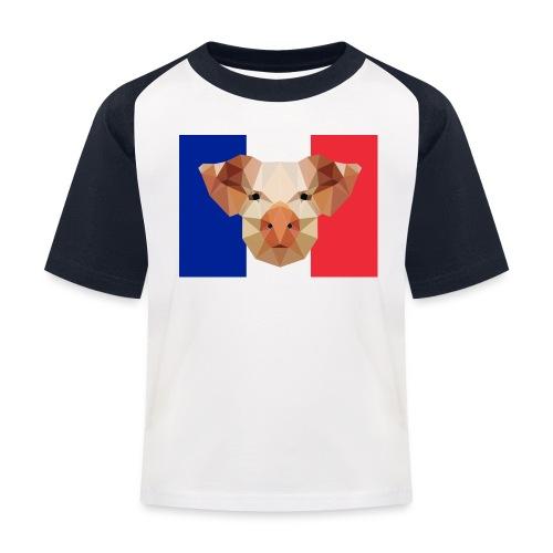 Cochon France - T-shirt baseball Enfant