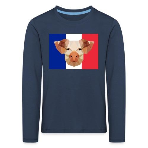 Cochon France - T-shirt manches longues Premium Enfant