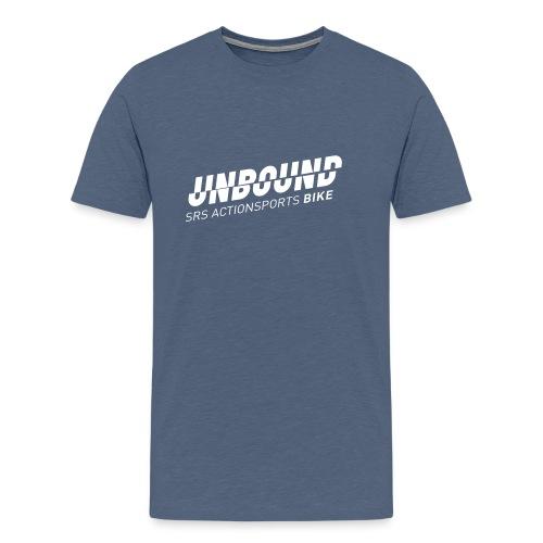 UNBOUND Bike - Logo front - Männer Premium T-Shirt