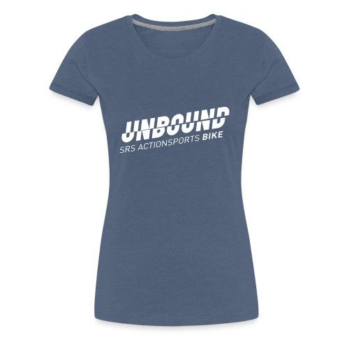 UNBOUND Bike - Logo front - Frauen Premium T-Shirt