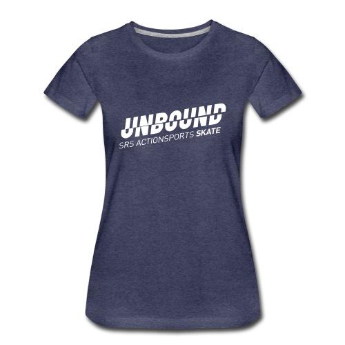 UNBOUND Skate - Logo front - Frauen Premium T-Shirt