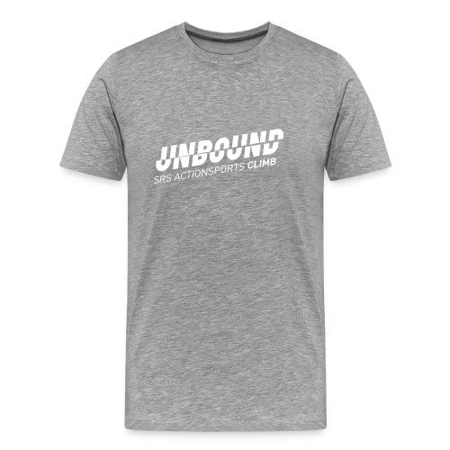 UNBOUND Climb - Logo front - Männer Premium T-Shirt