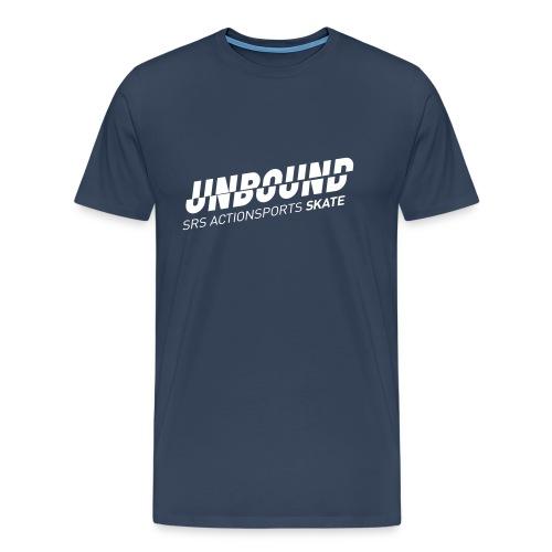 UNBOUND Skate - Logo front - Männer Premium T-Shirt