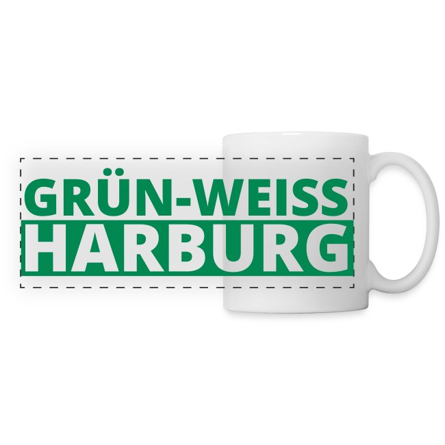 SV Grün-Weiss Harburg Panoramatasse - Match Cup