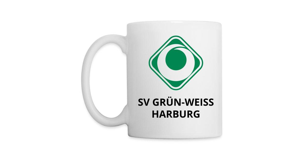 sv gr n weiss harburg online shop sv gr n weiss harburg tasse standard cup tasse. Black Bedroom Furniture Sets. Home Design Ideas