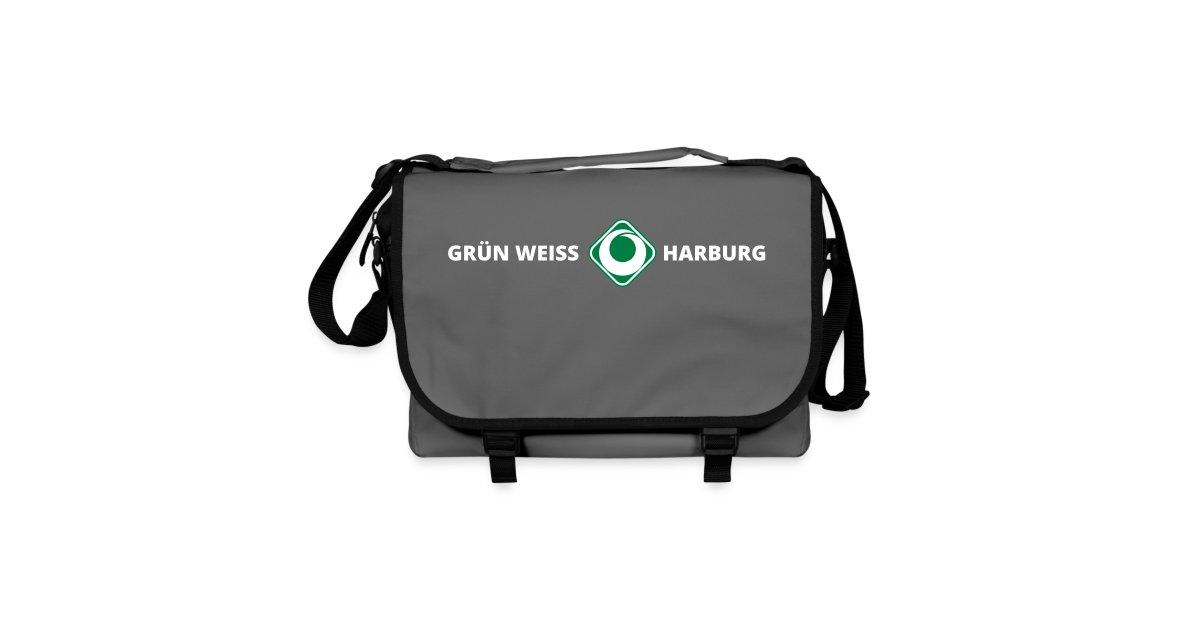 sv gr n weiss harburg online shop sv gr n weiss harburg umh ngetasche grey sportsbag. Black Bedroom Furniture Sets. Home Design Ideas