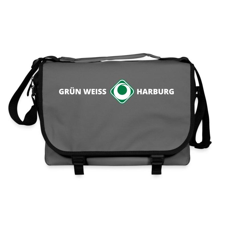 SV Grün-Weiss Harburg Umhängetasche - Grey Sportsbag - Umhängetasche
