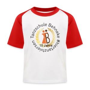 10 Jahre - Kids Shirt - Retro - Kinder Baseball T-Shirt