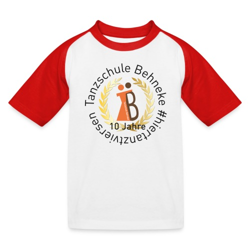 10 Jahre - Kids Shirt - Retro - Kinder Baseball T-Shirt
