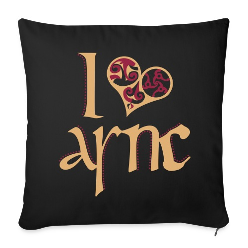 I Love ASNC cushion - Sofa pillow cover 44 x 44 cm