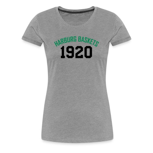 SV Grün-Weiss Harburg Baskets Premium Shirt - Frauen - Frauen Premium T-Shirt