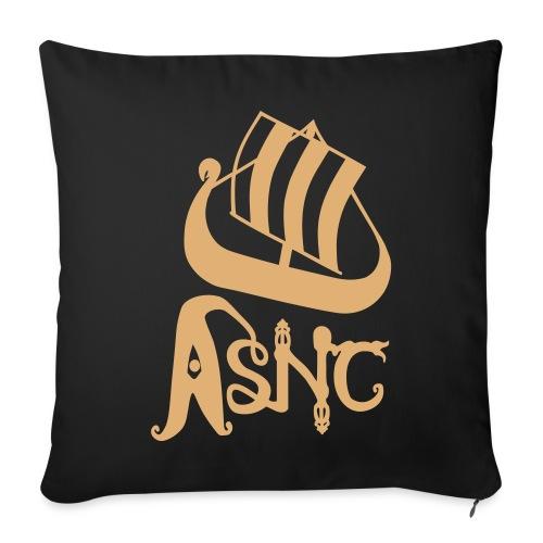 Ship logo cushion - Sofa pillow cover 44 x 44 cm