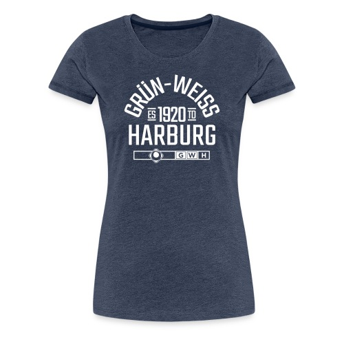 SV Grün-Weiss Harburg ESTD. Premium Shirt - Frauen - Frauen Premium T-Shirt