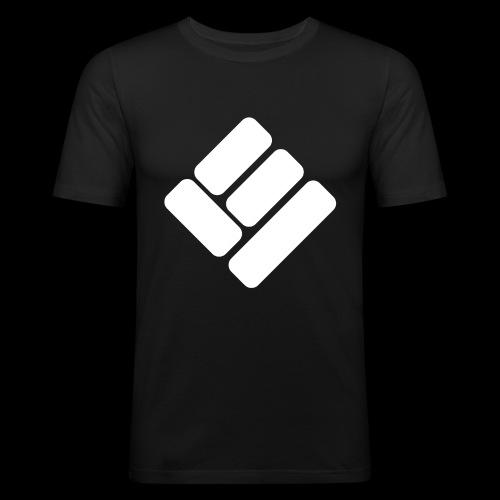 Loose Ends Whiteline - Men's Slim Fit T-Shirt