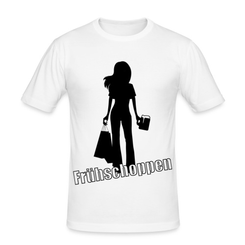 T-Shirt Frühschoppen - Männer Slim Fit T-Shirt