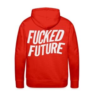 FF BACK HOODIE RED - Men's Premium Hoodie