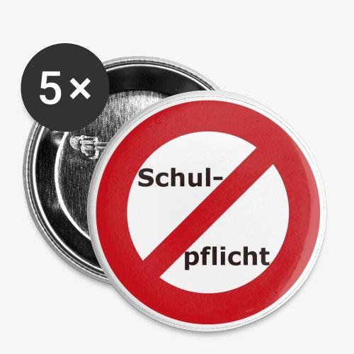 Buttons 25 mm - 5erSet - Buttons klein 25 mm (5er Pack)