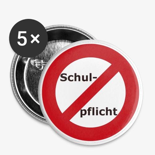 Buttons 56 mm - 5erSet - Buttons groß 56 mm (5er Pack)