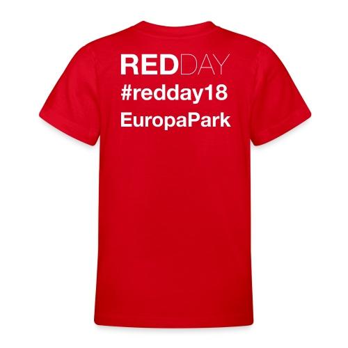 Offizielles GayRedDay T-Shirt - Teenager T-Shirt
