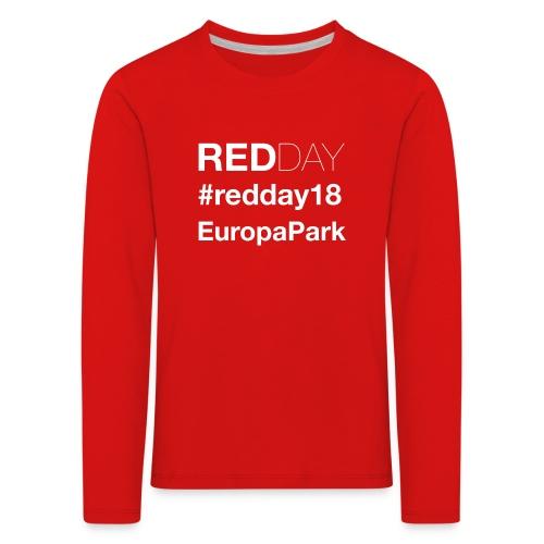 Offizieller GayRedDay Pullover - Kinder Premium Langarmshirt