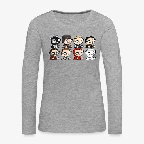 DBC - FMZ Crew (F) - T-shirt manches longues Premium Femme