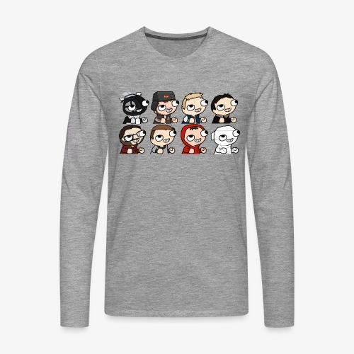 DBC - FMZ Crew - T-shirt manches longues Premium Homme