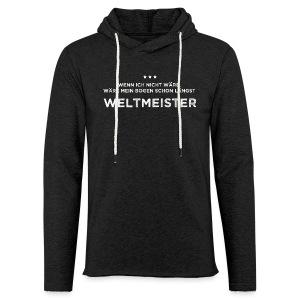 Weltmeister - Leichtes Kapuzensweatshirt Unisex - Leichtes Kapuzensweatshirt Unisex