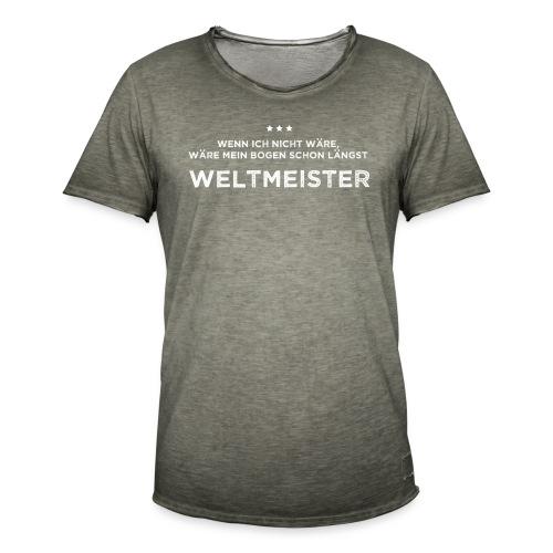 Weltmeister - Männer Vintage T-Shirt - Männer Vintage T-Shirt