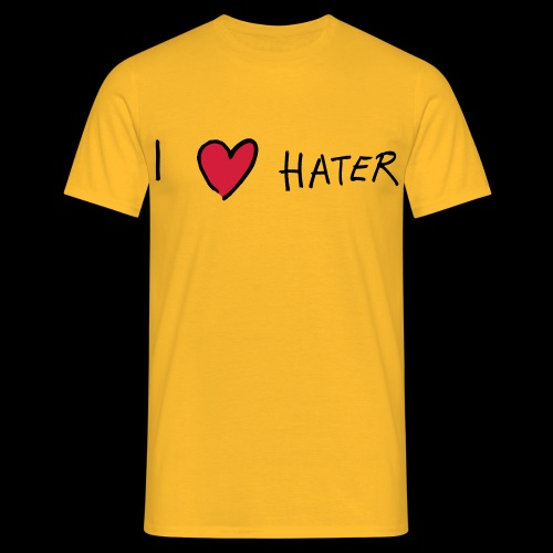 I love Hater - Männer T-Shirt