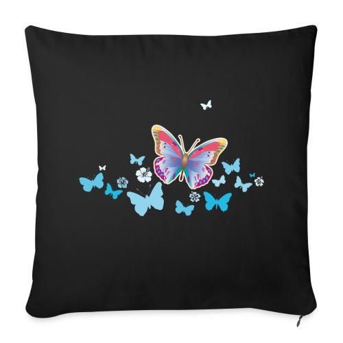 Schmetterling Falter Insekten Frühling Sommer - Sofakissenbezug 44 x 44 cm