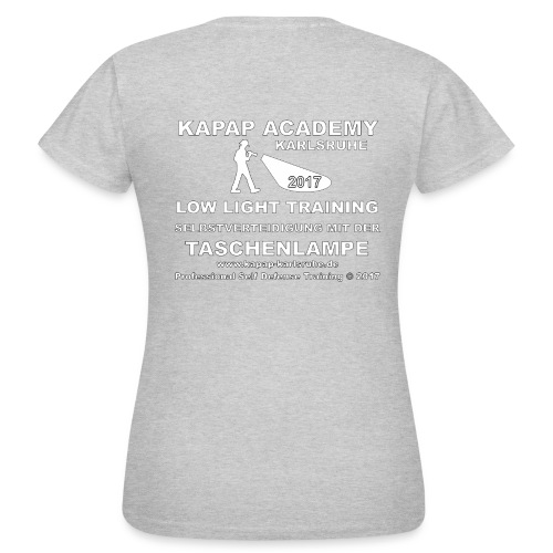 Damen Low Light T-Shirt KAPAP ACADEMY Karlsruhe - Frauen T-Shirt