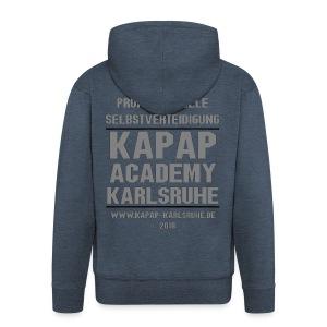 Herren Kapuzenjacke KAPAP ACADEMY Karlsruhe 2018 - Männer Premium Kapuzenjacke