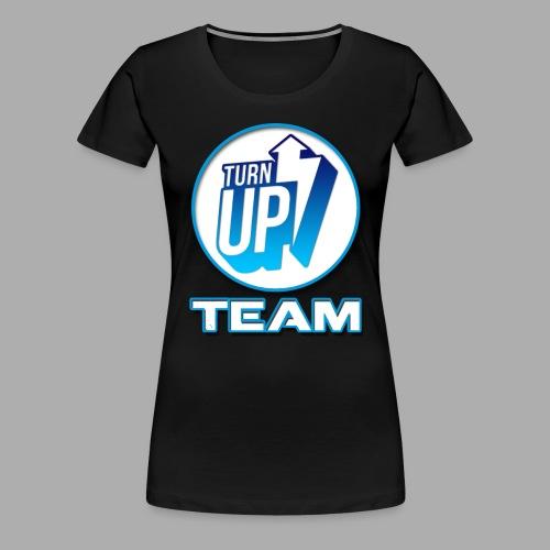 Tee-Shirt TurnUp Femme - T-shirt Premium Femme