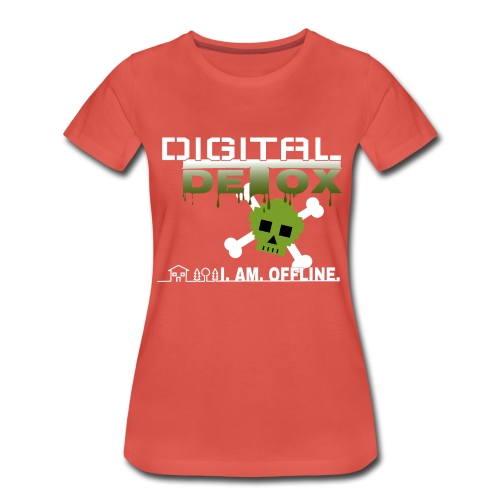 Digital Detox - I am offline - Frauen Premium T-Shirt