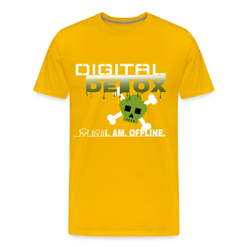 Digital Detox - I am offline - Männer Premium T-Shirt