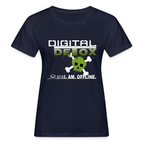 Digital Detox - I am offline - Frauen Bio-T-Shirt